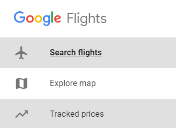 Search on google flights