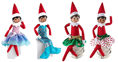 Elf on the Shelf Girl outfit set